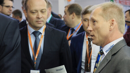 Начальник отдела сбыта Vecoplan AG по России и странам СНГ — Владимир Осипов