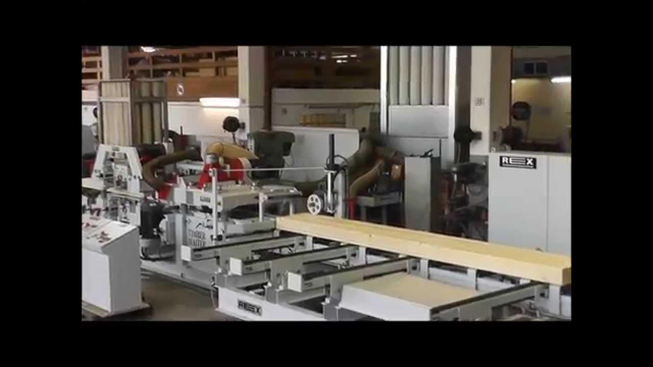 Embedded thumbnail for Timbermaster — для малых и средних предприятий; Компактный строгальный станок с 4-10 рабочими шпинделями